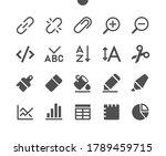 edit text v4 ui pixel perfect... | Shutterstock .eps vector #1789459715