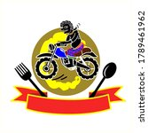 logo thai southern style food...   Shutterstock .eps vector #1789461962