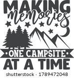 making memories one campsite at ... | Shutterstock .eps vector #1789472048