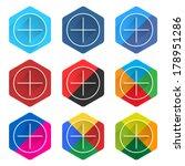 9 popular social network icon...