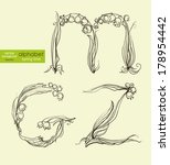 vector illustration drawn... | Shutterstock .eps vector #178954442