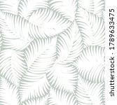 seamless gray abstract... | Shutterstock .eps vector #1789633475