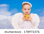 Cute Baby Cupid With Angel...