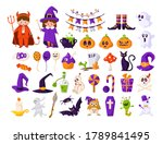 Halloween Cartoon Set   Kids I...