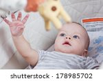 cute baby boy playing in the... | Shutterstock . vector #178985702