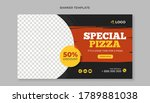 special pizza food banner...   Shutterstock .eps vector #1789881038