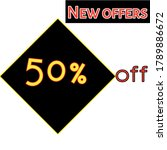 It's A New Offers 50  Off Text...