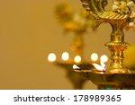 Diwali Oil Lamp During Festiva...
