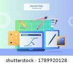 design tool illustration set...   Shutterstock .eps vector #1789920128
