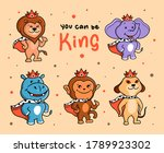 The Funny Set Of Animals Kings...