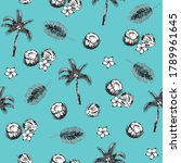 seamless vector pattern with... | Shutterstock .eps vector #1789961645