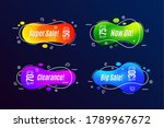 linear promotion banner shape... | Shutterstock .eps vector #1789967672