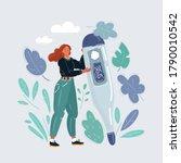 cartoon vector illustration of... | Shutterstock .eps vector #1790010542