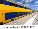 intercity train at arnhem... | Shutterstock . vector #179001425