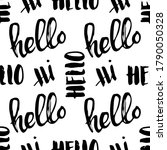 seamless pattern with black... | Shutterstock .eps vector #1790050328