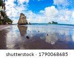 Travel To New Zealand. Ocean...