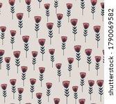random seamless spring pattern...   Shutterstock .eps vector #1790069582
