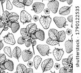 seamless pattern with... | Shutterstock .eps vector #1790122535