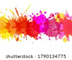 banners blobs poster isolated...   Shutterstock .eps vector #1790134775
