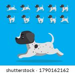 animal animation sequence dog... | Shutterstock .eps vector #1790162162