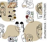 seamless pattern. abstract... | Shutterstock .eps vector #1790191085