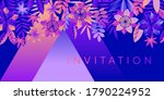 night disco club vibes with... | Shutterstock .eps vector #1790224952