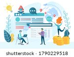optimization of the selling... | Shutterstock .eps vector #1790229518