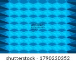 polygon abstract on blue... | Shutterstock .eps vector #1790230352
