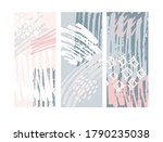 abstract hand drawn doodle ...   Shutterstock .eps vector #1790235038