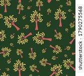 tree in autumn seamless pattern ...   Shutterstock .eps vector #1790275568