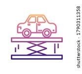 car lifter nolan icon. simple...