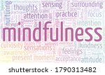 mindfulness word cloud isolated ...   Shutterstock .eps vector #1790313482