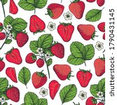 seamless pattern with... | Shutterstock .eps vector #1790431145