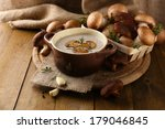 Composition With Mushroom Soup...