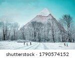Pyramid of khufu in giza  egypt ...