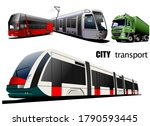 Kinds Of City Transport. Vector ...