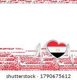 egypt patriotic background....   Shutterstock .eps vector #1790675612