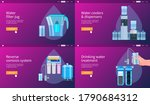 water filtering system concepts ... | Shutterstock .eps vector #1790684312