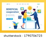 partners have reached a... | Shutterstock .eps vector #1790706725