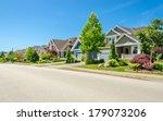 a perfect neighborhood. houses... | Shutterstock . vector #179073206