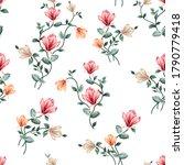 pink orange and grey vector... | Shutterstock .eps vector #1790779418