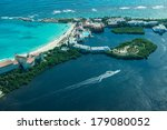 cancun  mexico  from bird     ... | Shutterstock . vector #179080052