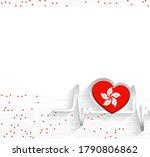 hong kong patriotic background. ...   Shutterstock .eps vector #1790806862