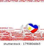 philippines patriotic...   Shutterstock .eps vector #1790806865