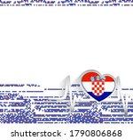 croatia patriotic background....   Shutterstock .eps vector #1790806868