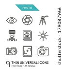 collection of photo trendy thin ...