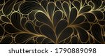luxury golden wallpaper. ... | Shutterstock .eps vector #1790889098