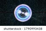 hud futuristic spin circle...