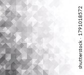 black grid mosaic background ...   Shutterstock .eps vector #1791018572