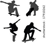 sport. silhouettes for your... | Shutterstock .eps vector #17910262